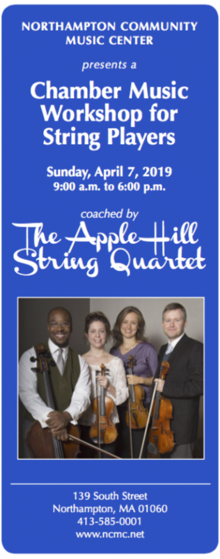 All-day Chamber Music Workshop for String Players
