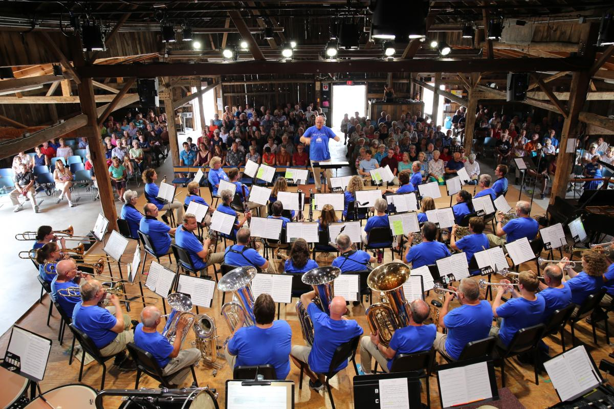 Door County's own adult band camp at Birch Creek