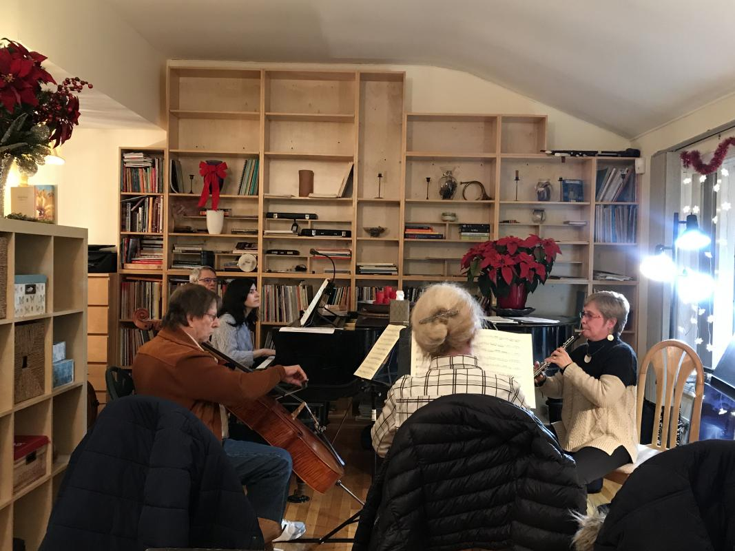 chamber music holiday party