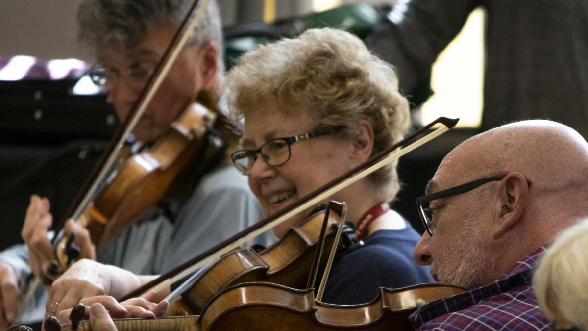 An intensive three day course concentrating on a major work for chamber orchestra.